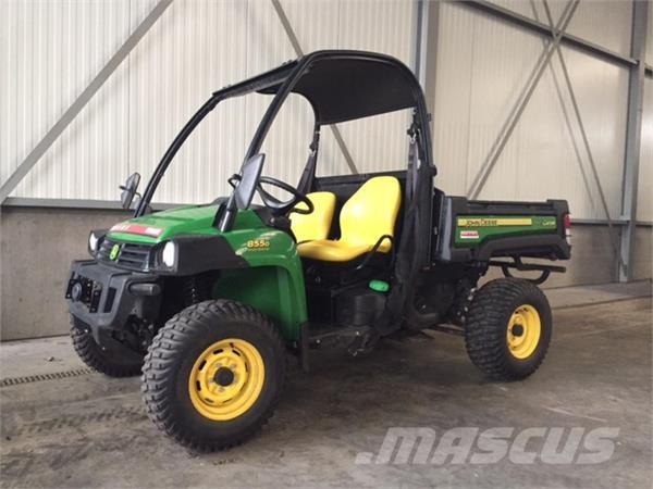 used john deere xuv 855d gator atvs year 2016 for sale. Black Bedroom Furniture Sets. Home Design Ideas