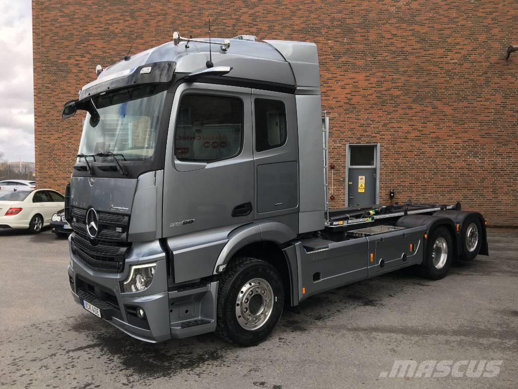 "Mercedes-Benz Actros 2858 LL 6x2 JOAB 20t Eco ""FÖR PROVKÖRNING"""