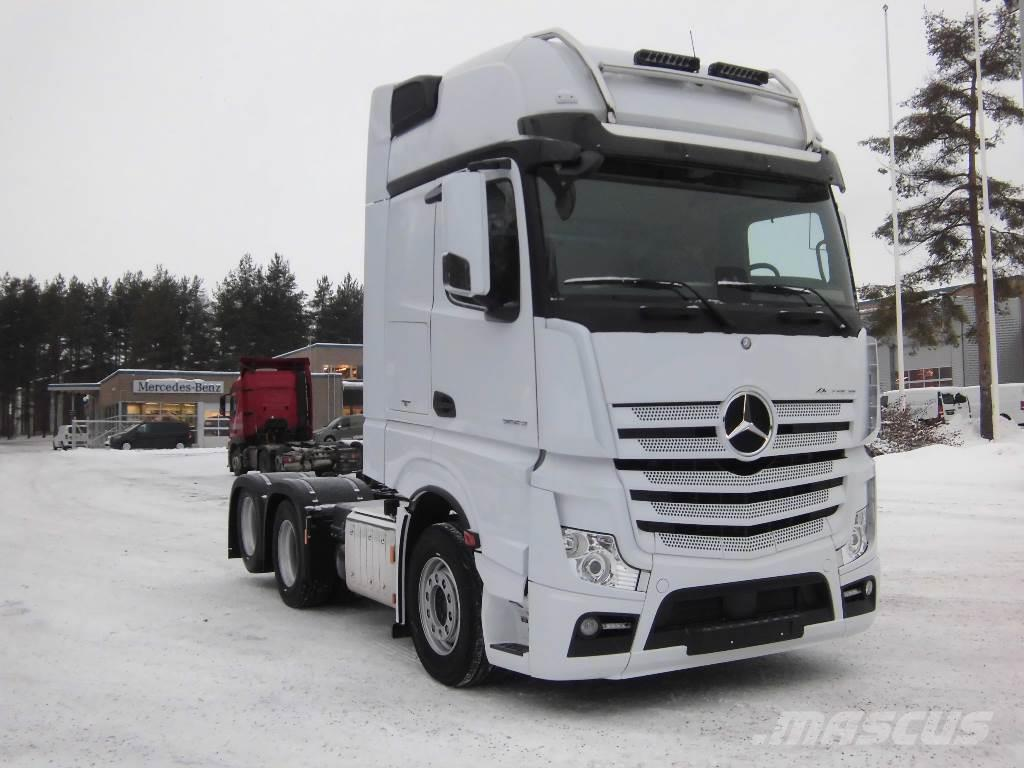used mercedes benz actros 2653 ls dna tractor units year 2018 for sale mascus usa. Black Bedroom Furniture Sets. Home Design Ideas