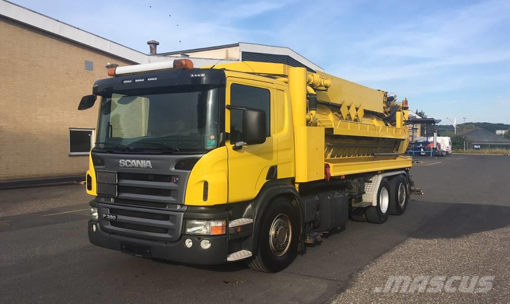Scania P380 6X2*4 08-1-022 HVIDTVED LARSEN FLEXLINE 310 A