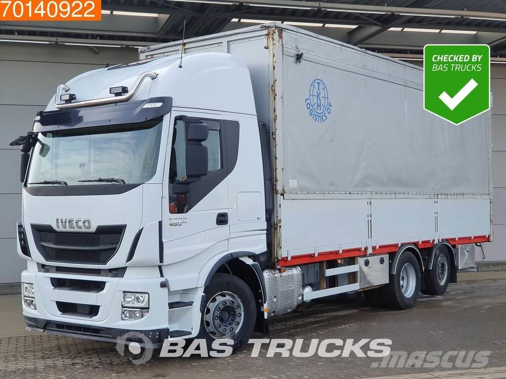 Iveco Stralis Hi-Way AS440S48 6X2 ACC Lift + Steering Ax