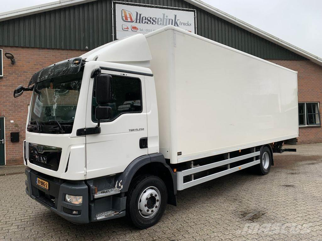 MAN TGM 15.250 4X2 7.3M Koffer + Laadklep/LBW Airco NL