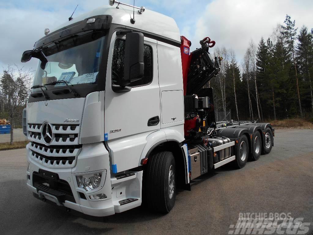 Mercedes-Benz Arocs 3251L HMF3220/ 20t Joab