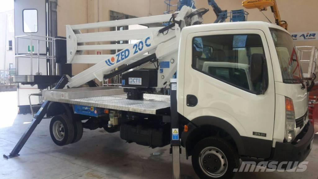 CTE ZED 20 C Truck Mounted Aerial Platform