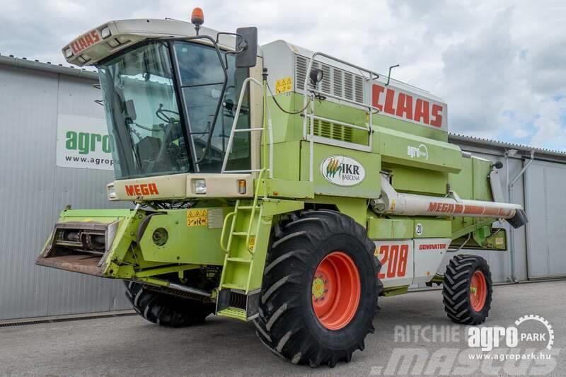 CLAAS Mega 208 (4190/5461 hours) 6 walkers, C600 header
