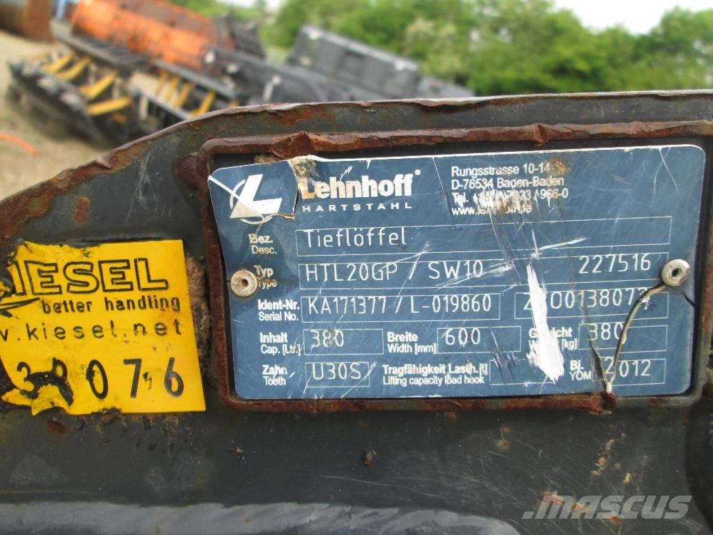 Lehnhoff HTL20 600MM MS10 15-19TO 380L