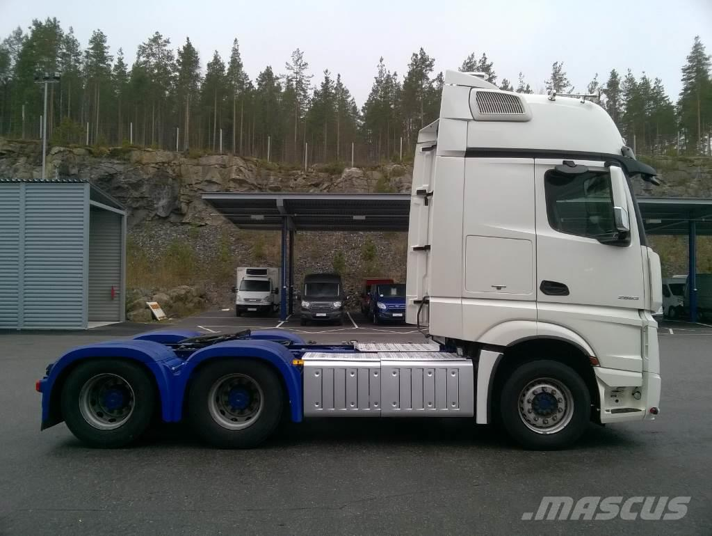 Used mercedes benz actros 2663ls gigas 6x4 tractor units for Used mercedes benz trucks for sale in germany