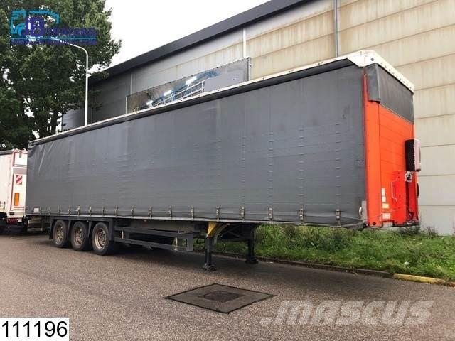Schmitz Cargobull Tautliner Roof adjustable in height, Disc brakes