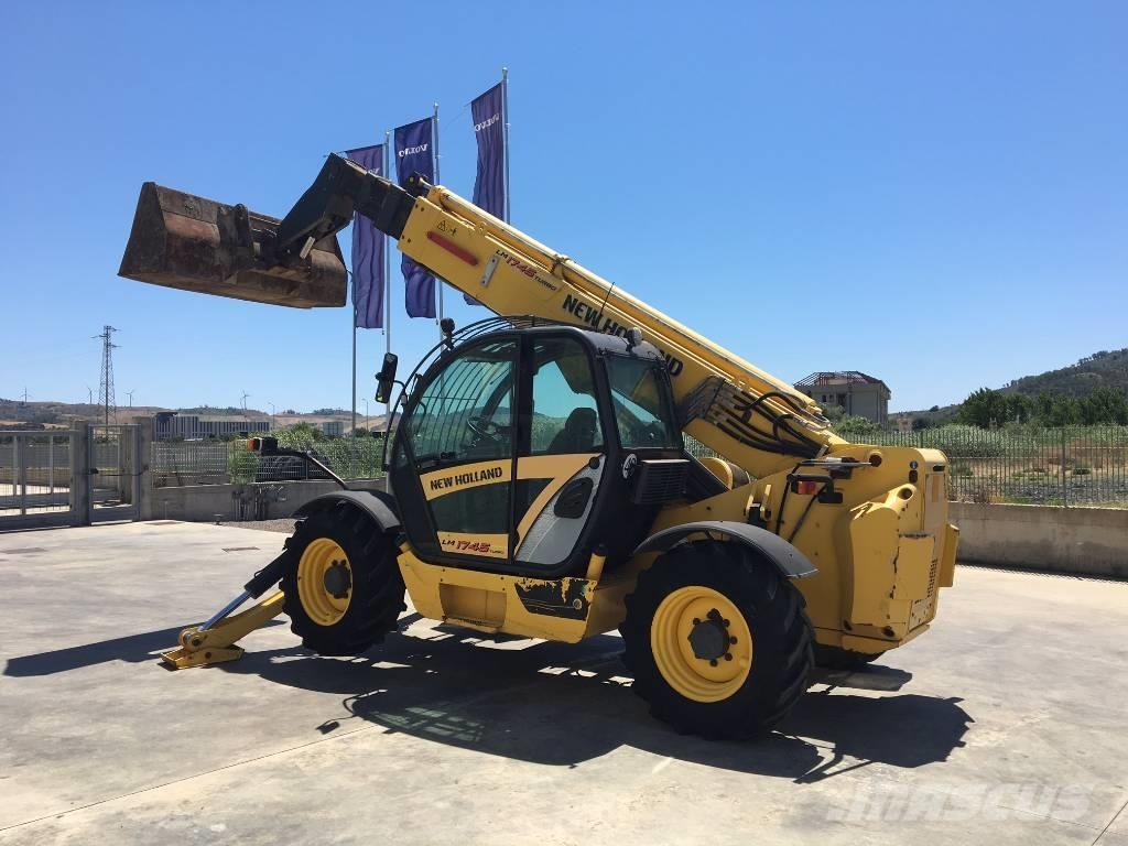 new holland lm 1745 telescopic handlers year of manufacture 2007 mascus uk. Black Bedroom Furniture Sets. Home Design Ideas