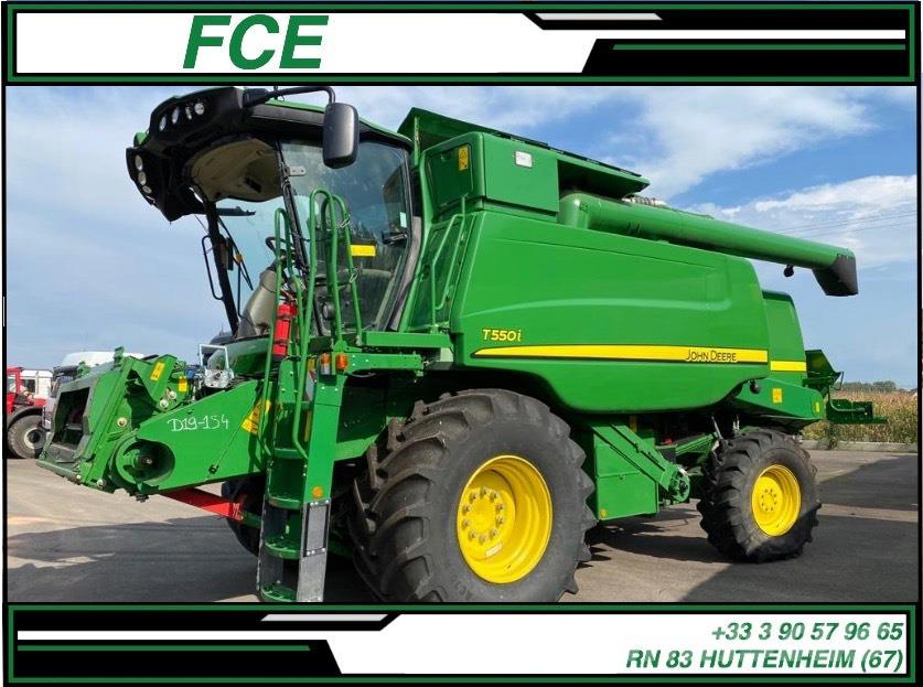 John Deere T 550 i *ACCIDENTE*DAMAGED*UNFALL*