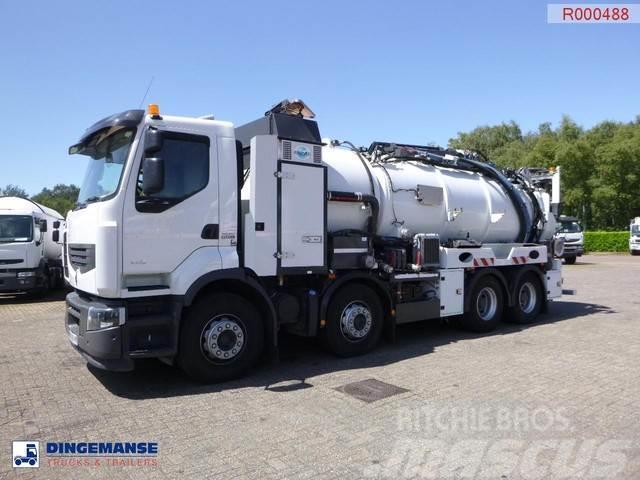 Renault Premium 430 dxi 8x4 Euro 5 vacuum tank / hydrocure