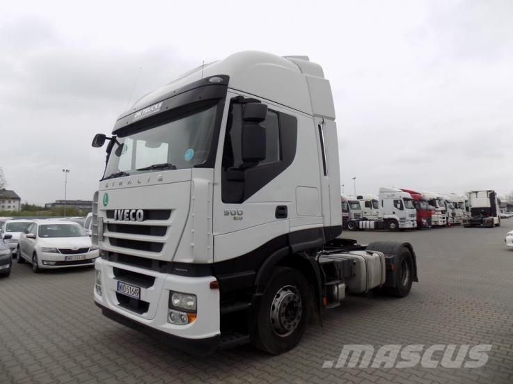 Iveco STRALIS AS 440S50 T/P-ECO 4x2 500 KM