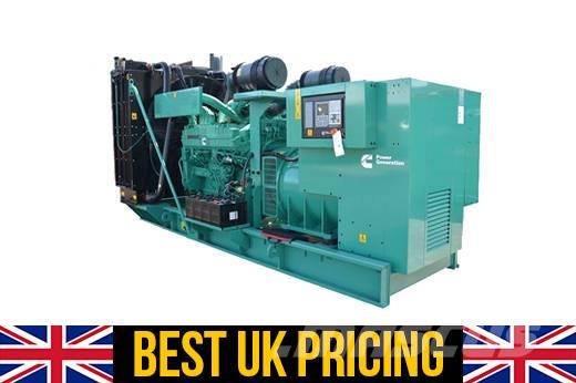 Cummins 1041 kVA High Power C1000 D5 QST30 G3 Open Genset