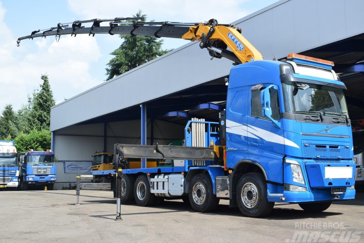 Volvo FH 500 8x2 EFFER 525 8S