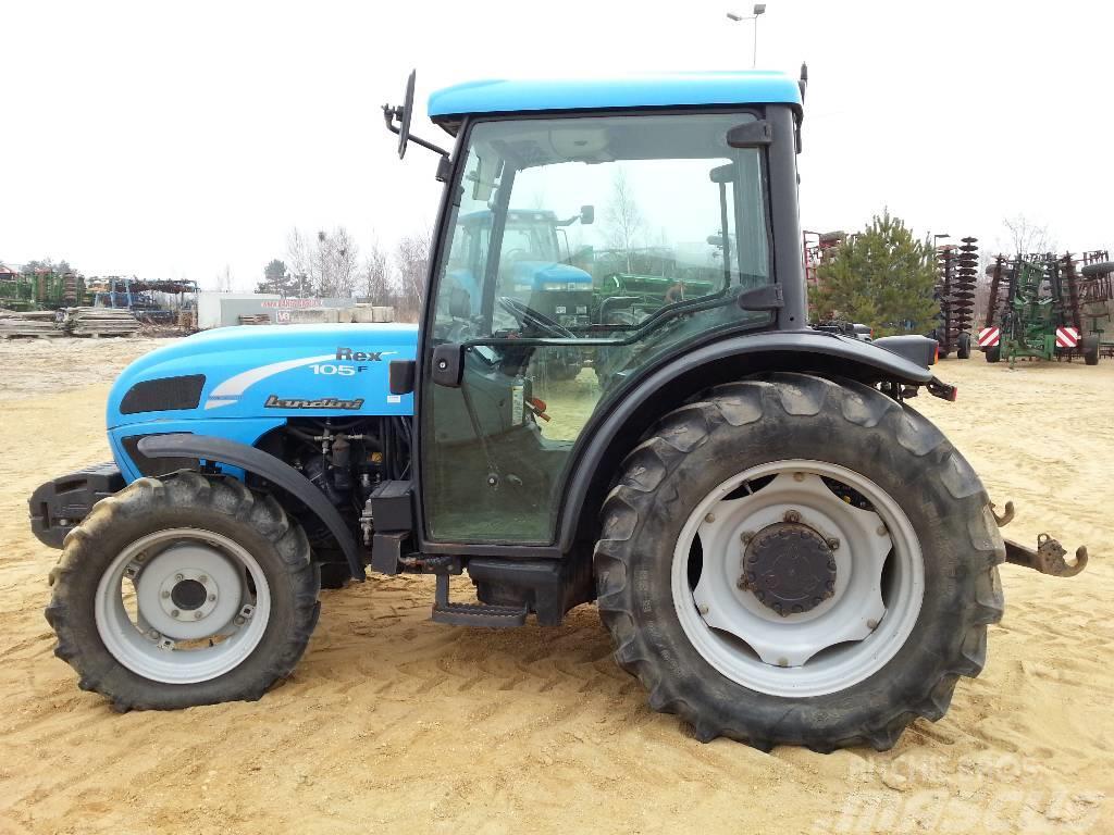 Landini Rex 105 F, 2006, Traktory