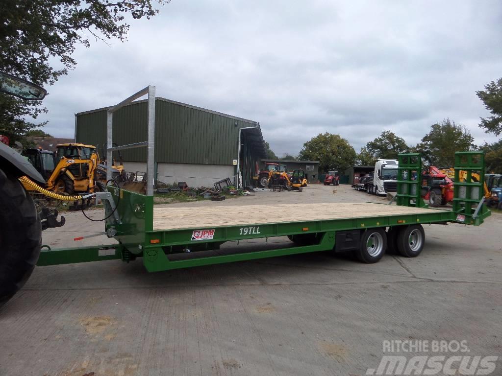 JPM 27ft low loader trailer