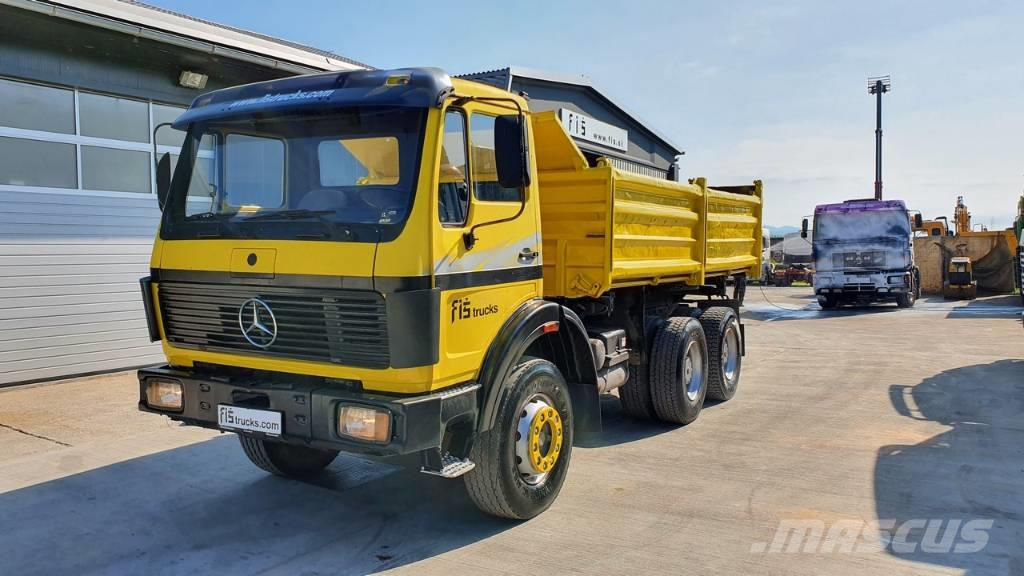 Mercedes-Benz 2628 K 6x4 meiller tipper - big axle 13 ton