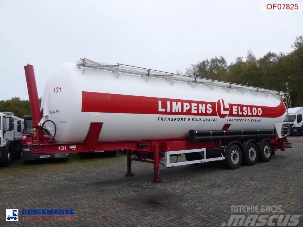 Feldbinder Powder tank alu (tipping) 63 m3
