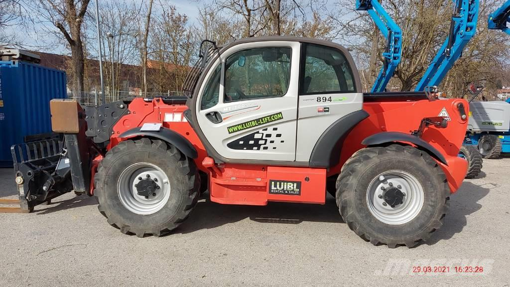 Manitou MT 1840 / 883 Operating hours