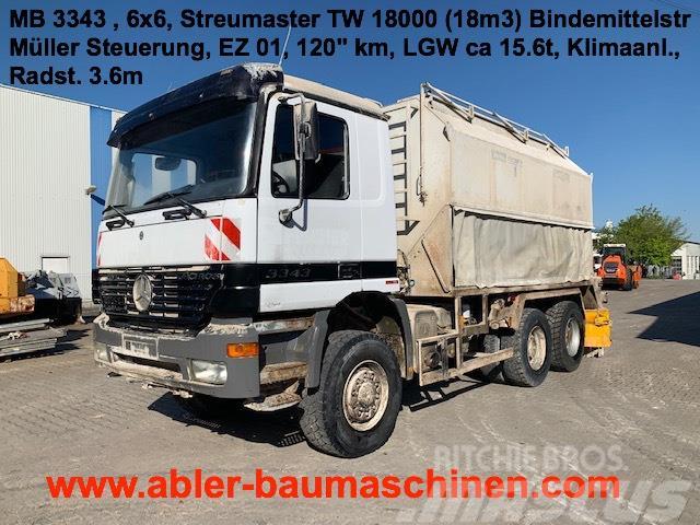 Mercedes-Benz 3343 Streumaster Spreader Bindemittelstreuer