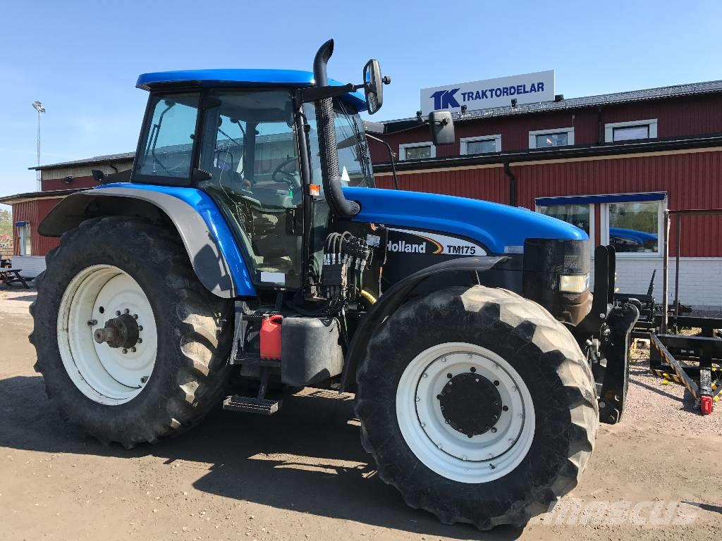 New Holland TM 175 Dismantled for spare parts