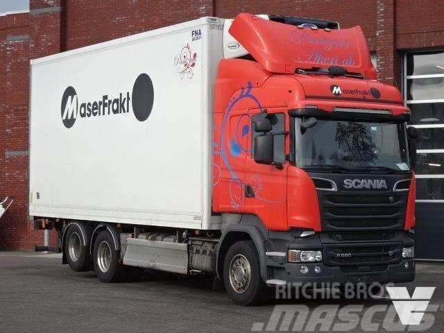 Scania R580 6x2 Frigo - Carrier - Full air - Retarder - L