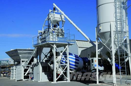 Frumecar EBA - mobiele betoncentrale 30 - 70 m³/uur