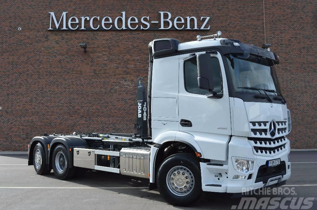 used mercedes benz arocs 2853 l startklar tow trucks. Black Bedroom Furniture Sets. Home Design Ideas