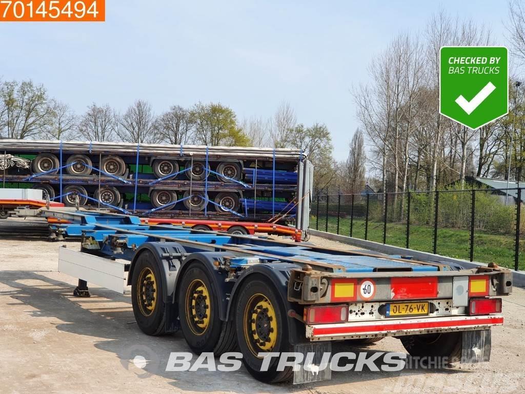 Schmitz Cargobull SGF*S3 3 axles 2x Extending Chassis 2x20-1x30-1x40