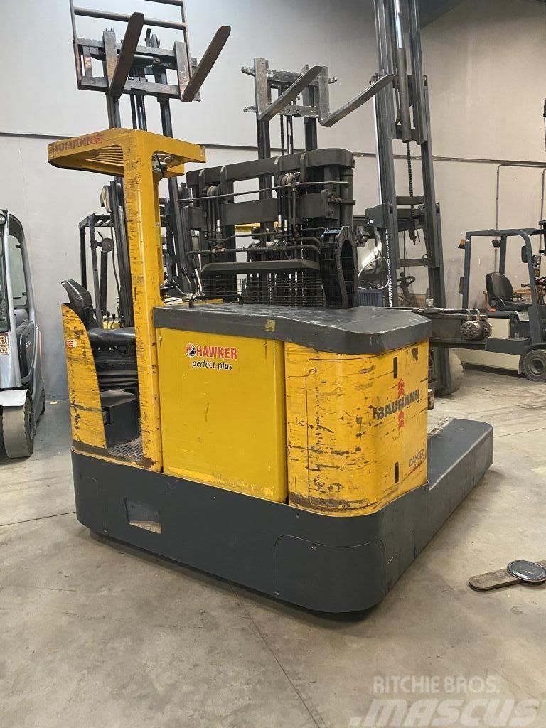 Baumann ECU30 3 tons vierweg heftruck perfect voor smalle