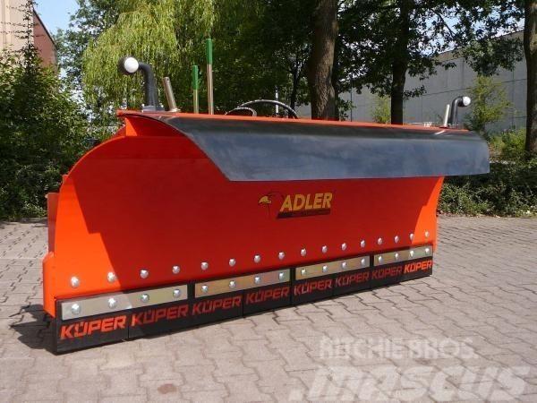 Adler S-SERIE sneeuwschuif, Snöblad och plogar