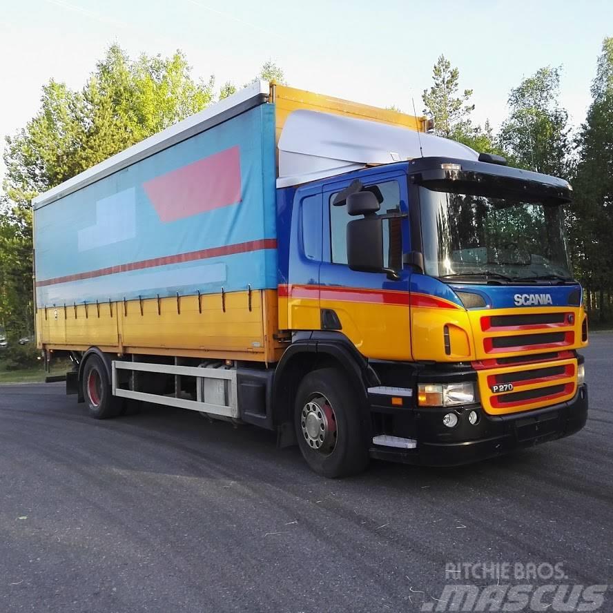 Scania P270 alulava liukukapeli+pl nostin