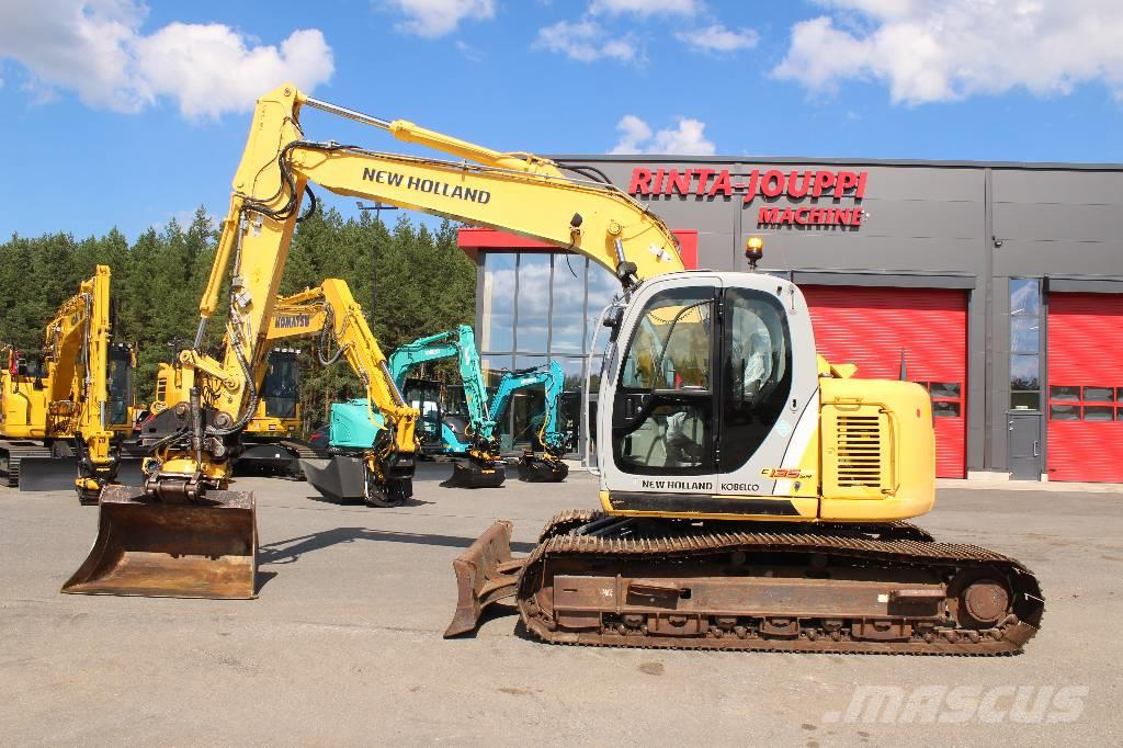 New Holland E 135 SR LC / Myyty, Sold