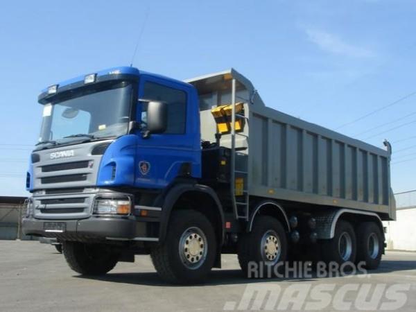 Scania P 380 8x4