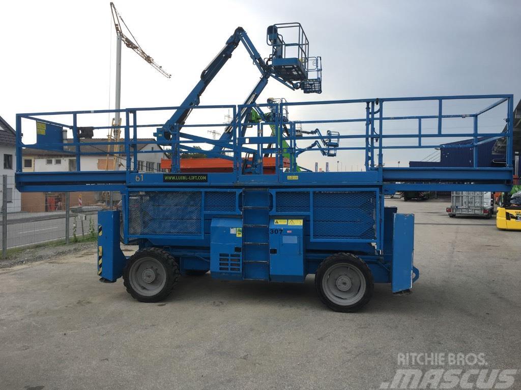 Genie GS 4390 RT, 15m scissor lift, Superdeck