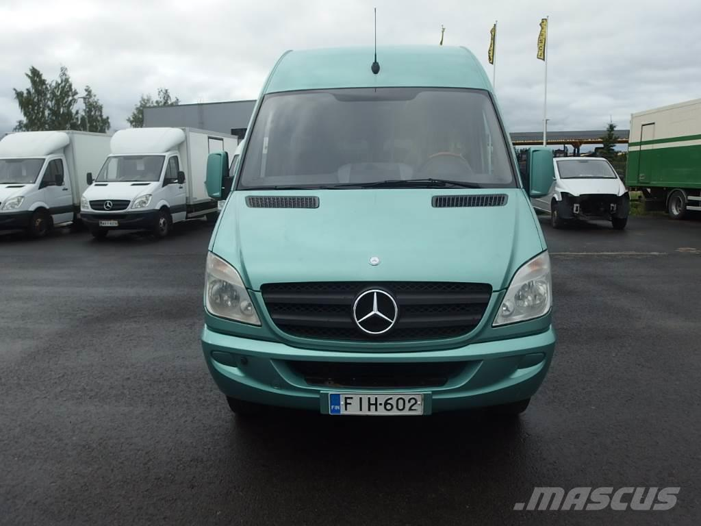 Mercedes benz sprinter 518cdi 20 1 paikkaa coach price for Price of mercedes benz sprinter