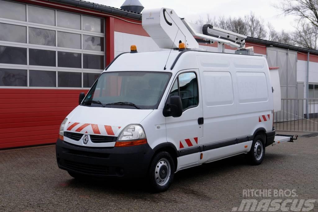 Renault Master 120 Arbeitsbühne 12,50m Korb 200kg TÜV UVV