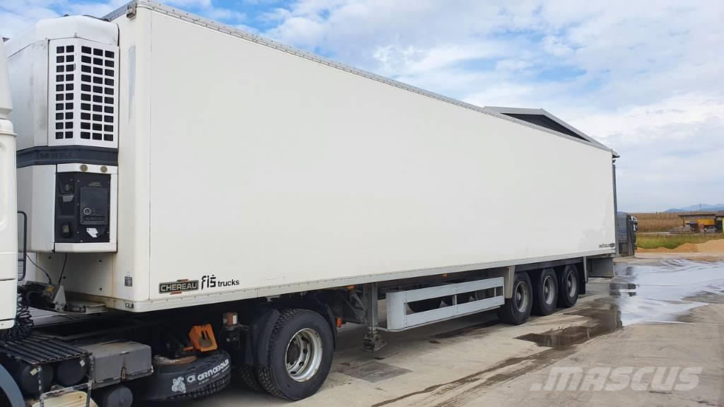 Chereau EUROGAM 250 thermoking semi trailer - 3 axle