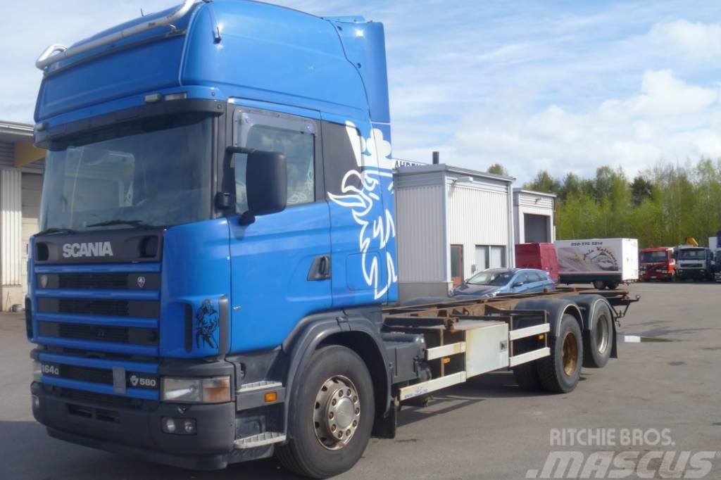 Scania R164GB 6x2 580