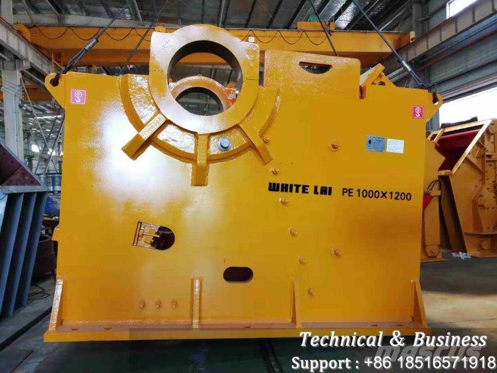White Lai PE1000X1200 JAW CRUSHER MACHINE