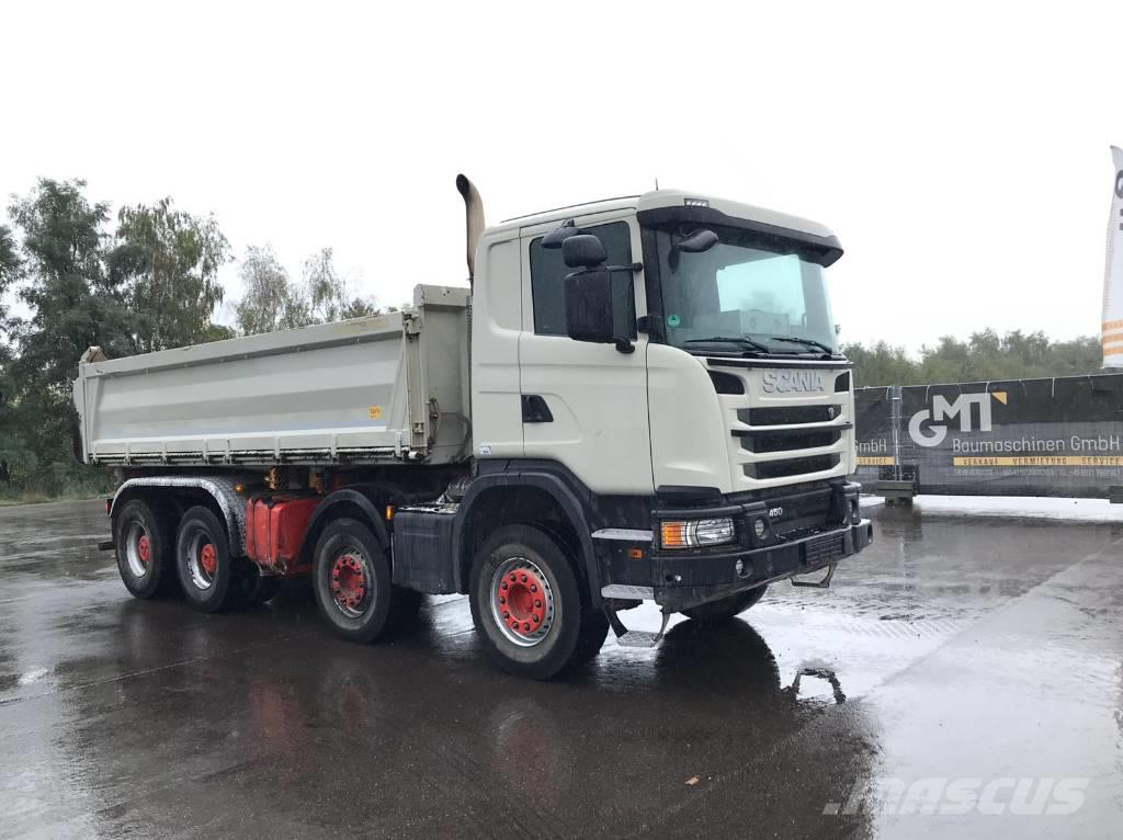 Scania G450 8x4 **BJ 2014/251.000 km/ Bordmatik**
