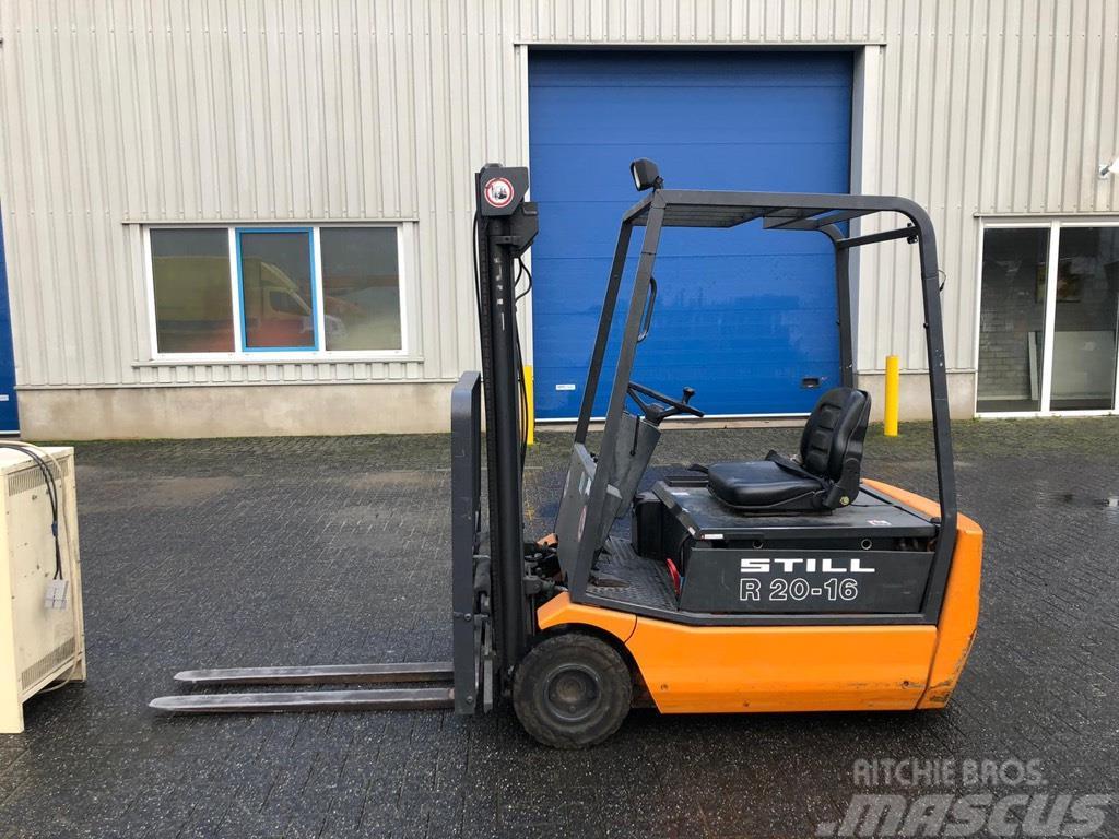 Still R20-16, Elektro Heftruck, 1,6 ton.