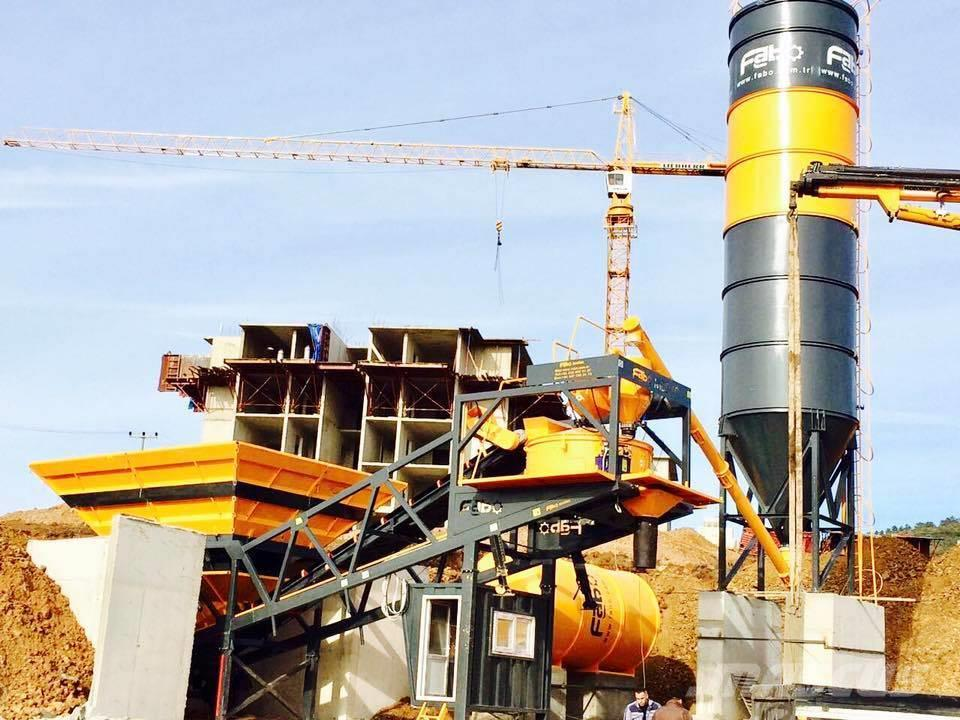Fabo Mobile Concrete Batching Plant | TURBOMIX 60