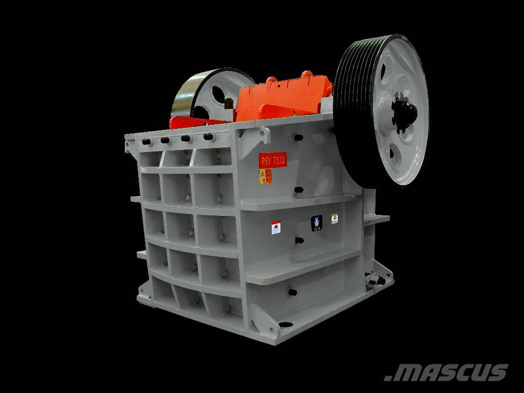 White Lai Large Output Hydraulic Jaw Crusher PEV-1500x1000