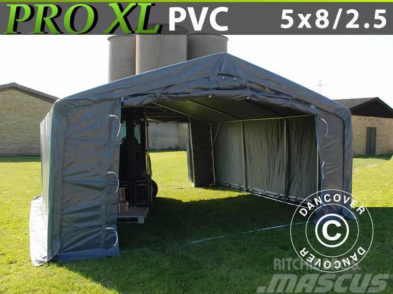 Dancover Storage Shelter 5X8X2,5X3,3m PVC Telthal