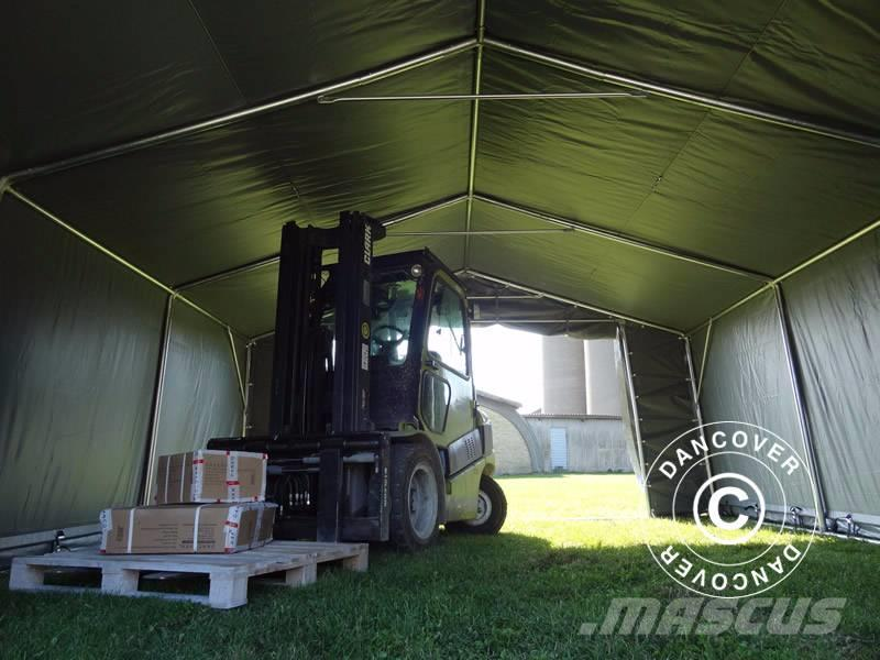Shelter Storage Cover All : Used dancover storage shelter x m pvc telthal