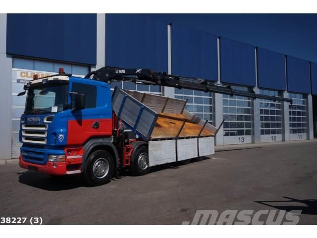 Scania R 480 8x4 Hiab 24 ton/meter Kran