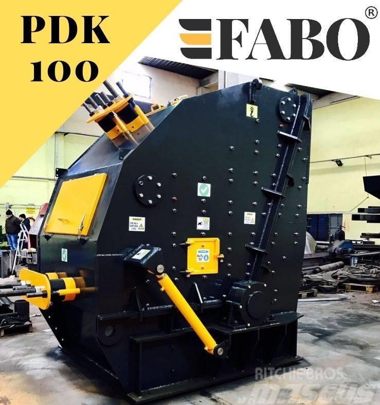 Fabo PDK-100 SERIES PRIMARY IMPACT CRUSHER