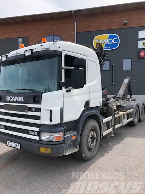 Scania P14 G Kran/krok