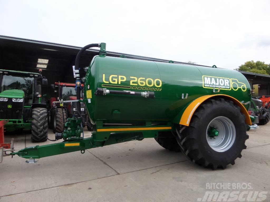 Major LGP 2600 VACUUM TANKER